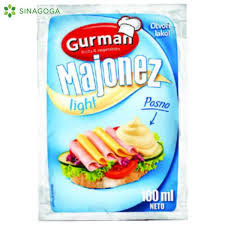 MAJONEZ LIGHT GURMAN 100ML. delivery