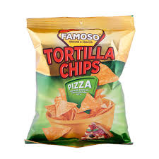 FAMOSO TORTILA CHIPS PIZZA 85G dostava