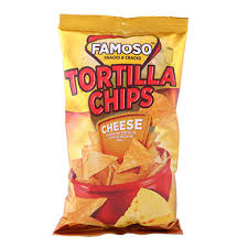 FAMOSO TORTILLA CIPS CHEESE 150G delivery