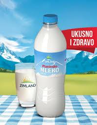 ZIMLAND MLEKO 2,8% BOCA 1L dostava
