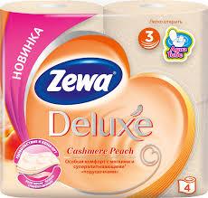 ZEWA DELUXE PEACH  4/1 dostava