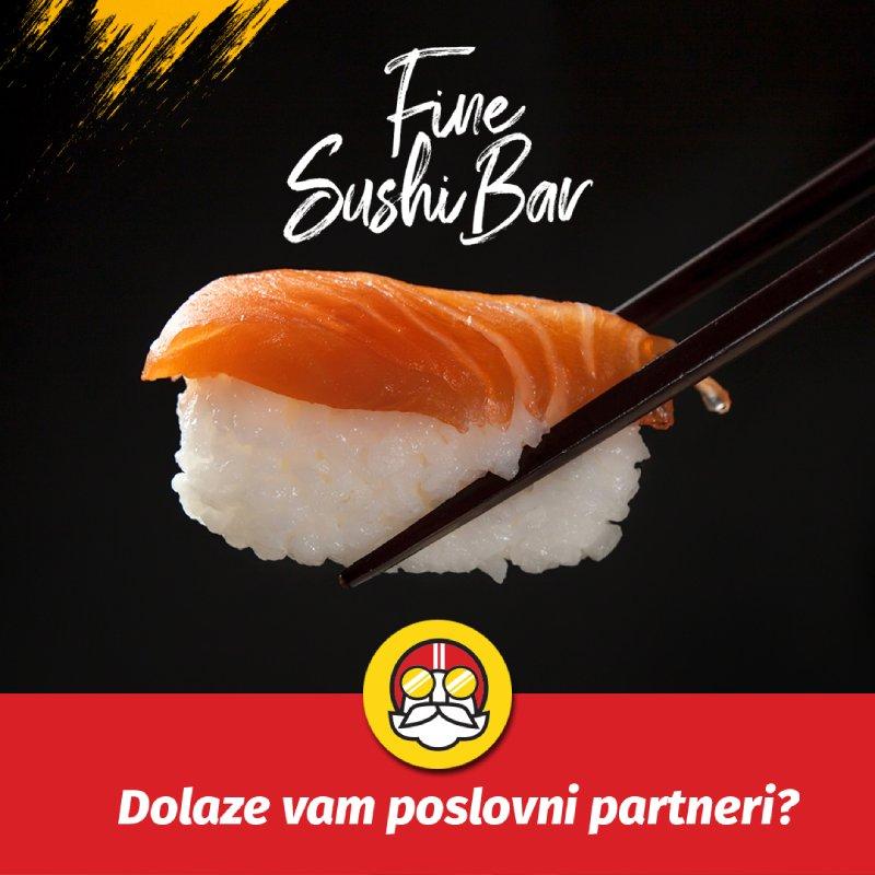 dostava hrane Sushi